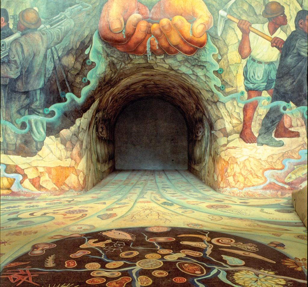 Carcamo de Chapultepec mural