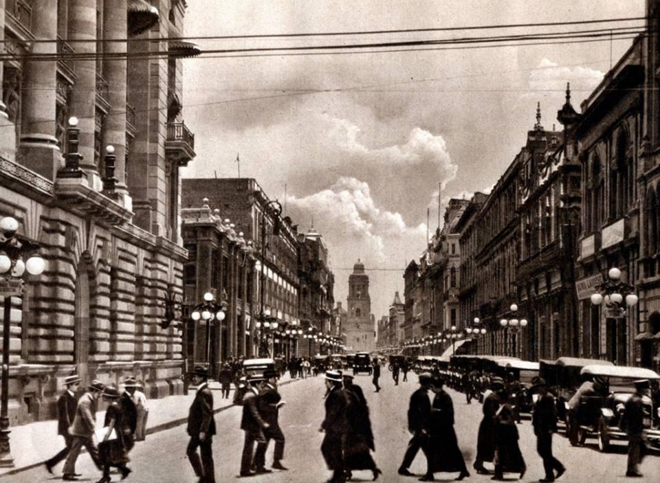 centro historico 1920
