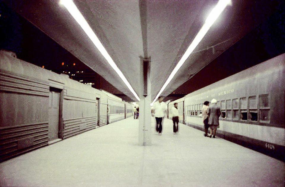 Estación Buenavista en 1976