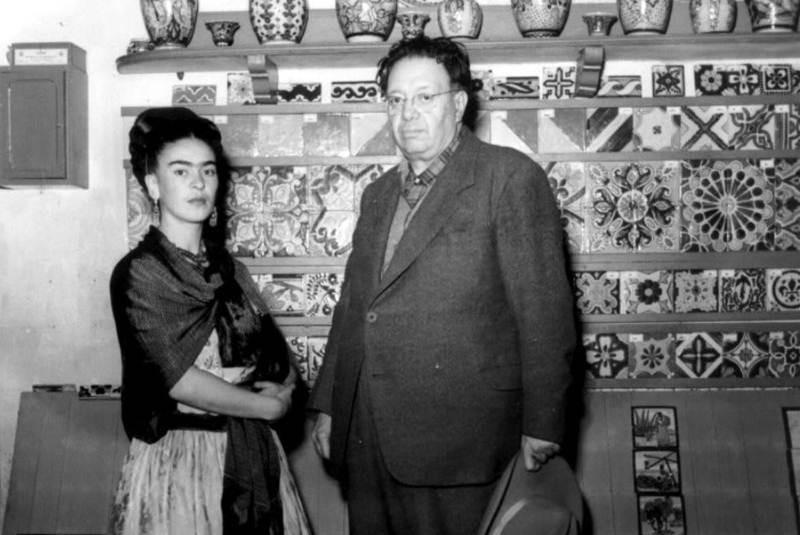 La comida preferida de Frida Kahlo y Diego Rivera