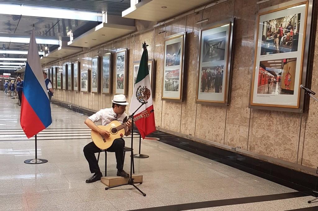 moscu exposición transporte ciudad de mexico