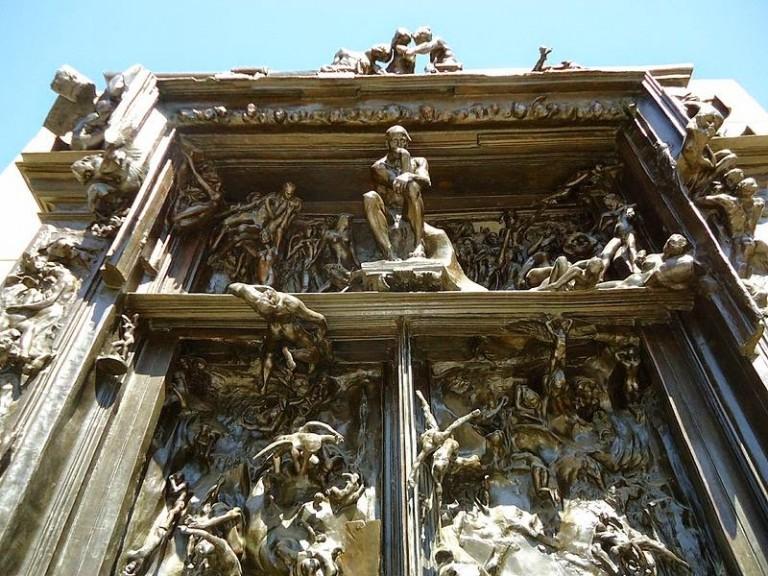 El infierno de rodin arriba al museo soumaya for 9 puertas del infierno