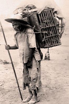Vendedor de Violines 1880