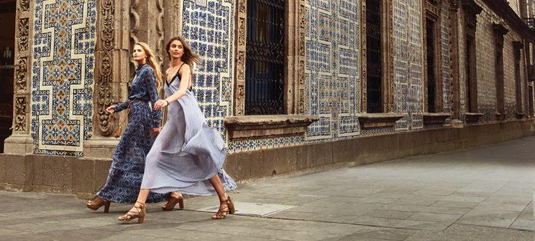 El glamour al caminar por la Ciudad de Mexico segun Michael Kors