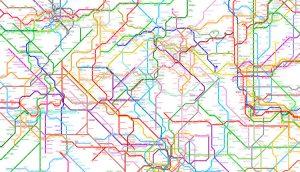 214 redes del metro del mundo