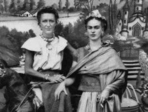 frida kahlo y jacqueline lamba