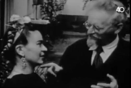 leon trotsky y frida kahlo