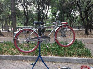 mercado de trueque de bicicletas