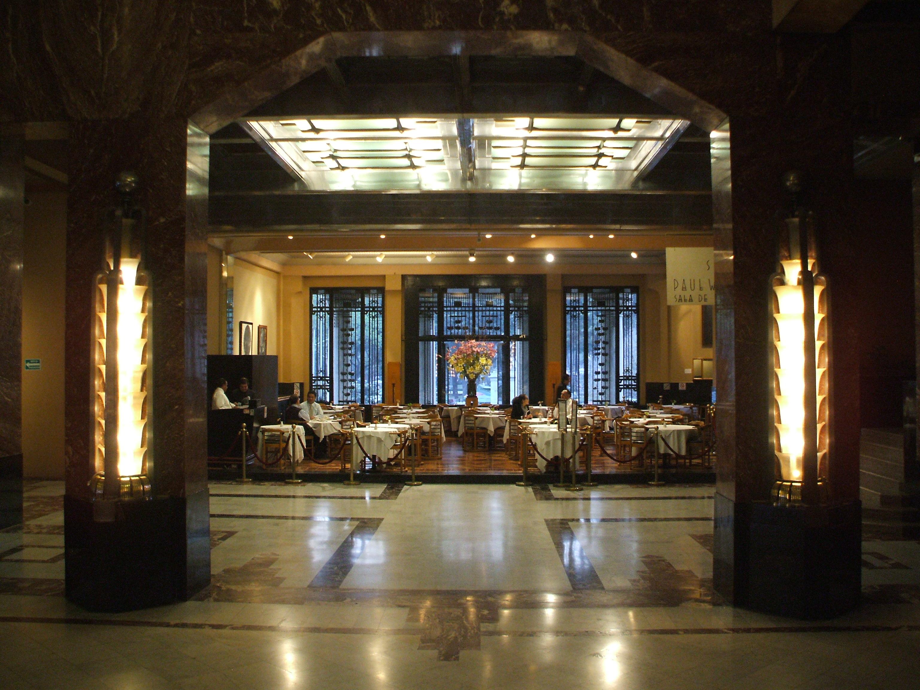 restaurante palacio bellas artes