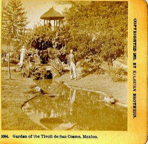 jardines tivoli del eliseo, cdmx en el tiempo