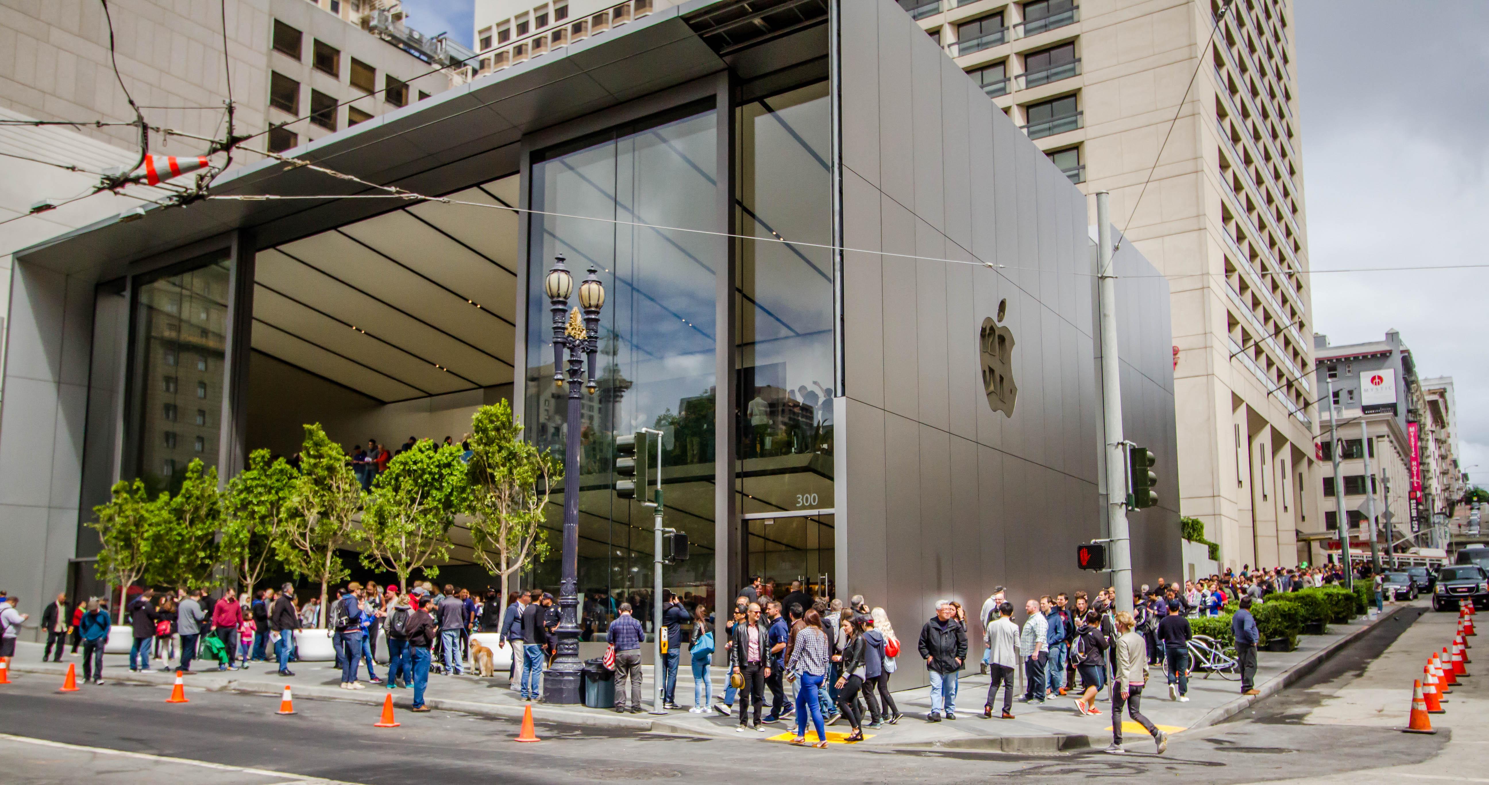 Apple Store Union Square, en San Francisco