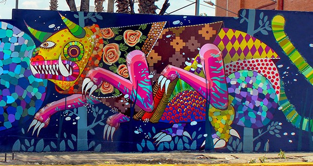 Mxcity for Arte colectivo mural