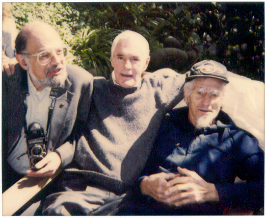 Foto: Allen Ginsberg, Timothy Leary y  John C. Lilly / Wikimedia Commons