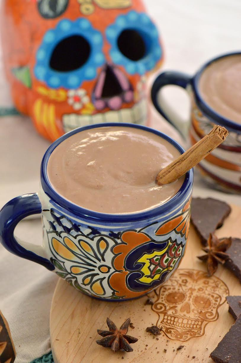 winter drinks champurrado