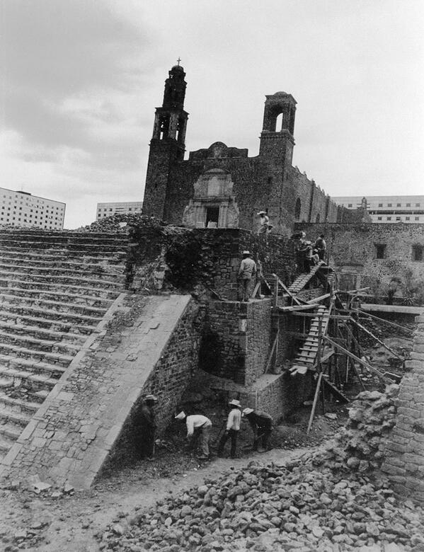archaeology in tlatelolco