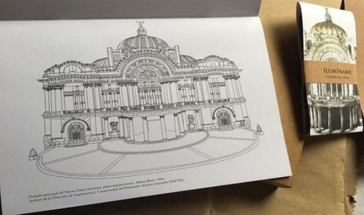 Francisco Toledo y su libro para colorear el magnífico Palacio de ...