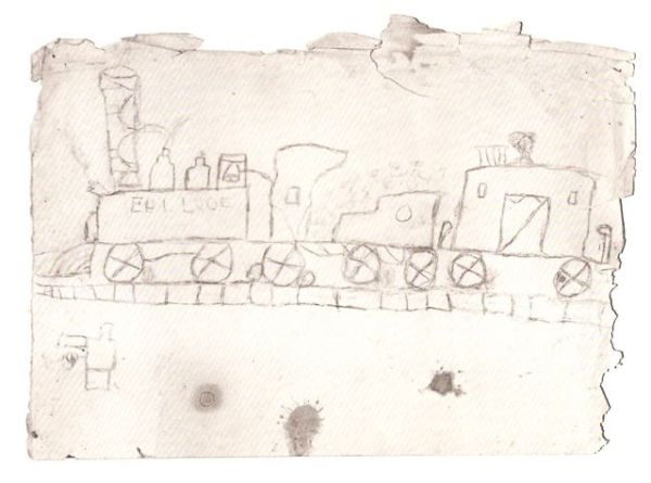 Diego Rivera's First Drawing