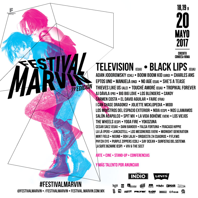 festival marvin 2017-line up