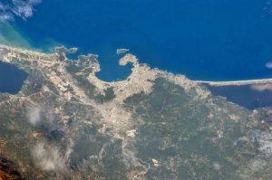 imagenes desde el espacio puerto de acapulco