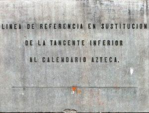 placa de la piedra del sol catedral metropolitana