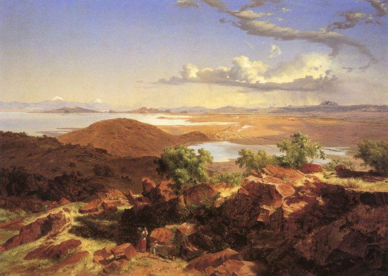 recorrido pintura valle de mexico jose maria velasco