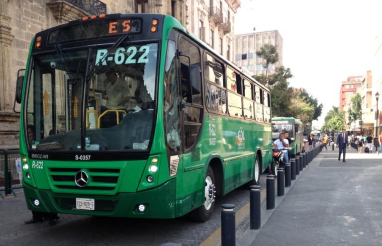 transporte publico rutas seguras-ciudad de mexico cdmx