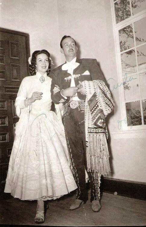 La legendaria boda de María Félix y Jorge Negrete en la Ciudad de México