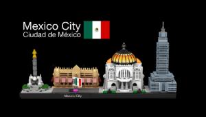 ciudad de mexico lego