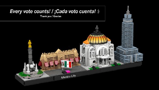 ciudad de mexico lego 11