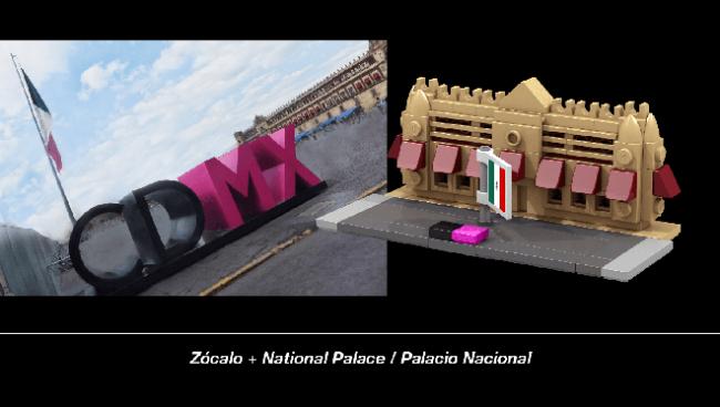 ciudad de mexico lego 3