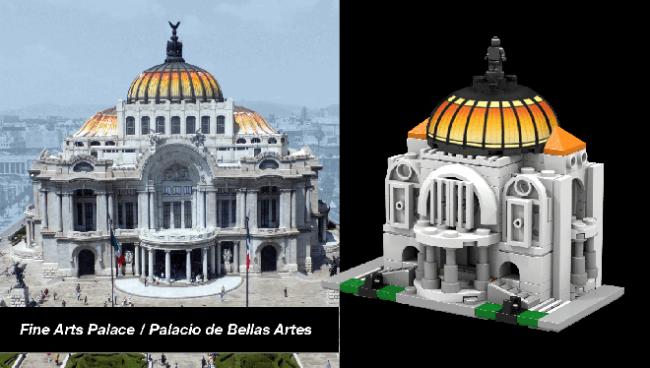 ciudad de mexico lego 5