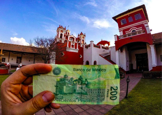 Billete mexicano de 200 pesos