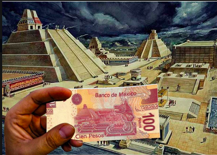 Billete mexicano de 100 pesos