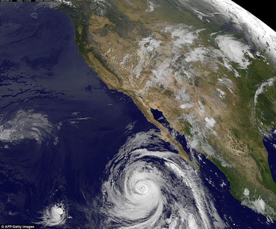 México con huracán