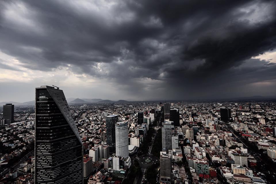 ¿CÓMO SE VE LA CDMX DESDE EL CIELO? LAS ASOMBROSAS FOTOS DE SANTIAGO ARAU