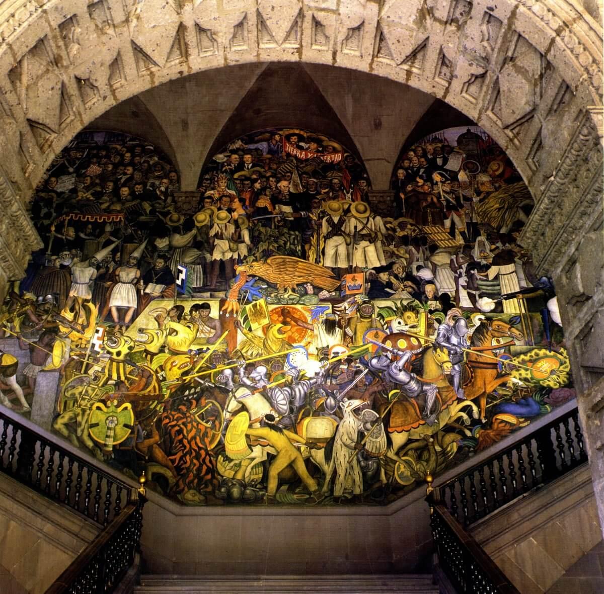 Diego Rivera Y Sus Murales Del Palacio Nacional Epopeya Del Pueblo