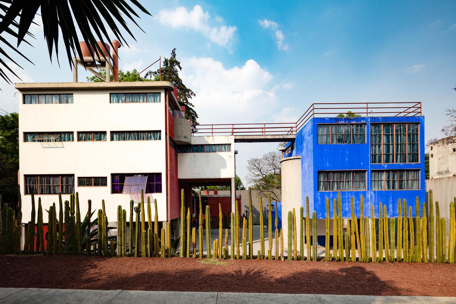 Resultado de imagen para museo casa estudio diego rivera y frida kahlo