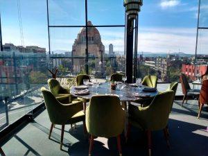 Arango Cocina Mexicana Con Una Vista Hermosa Al Monumento A
