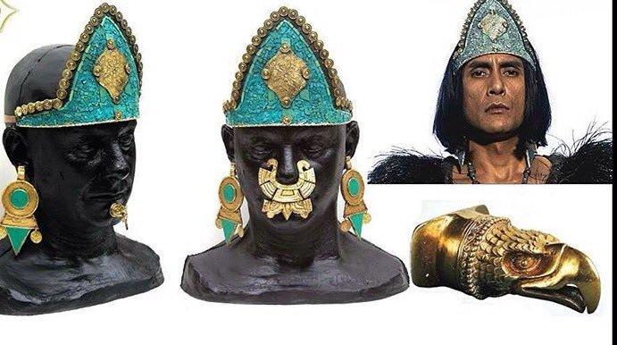 Bezote: ornamentos para las expansiones en las culturas prehispánicas