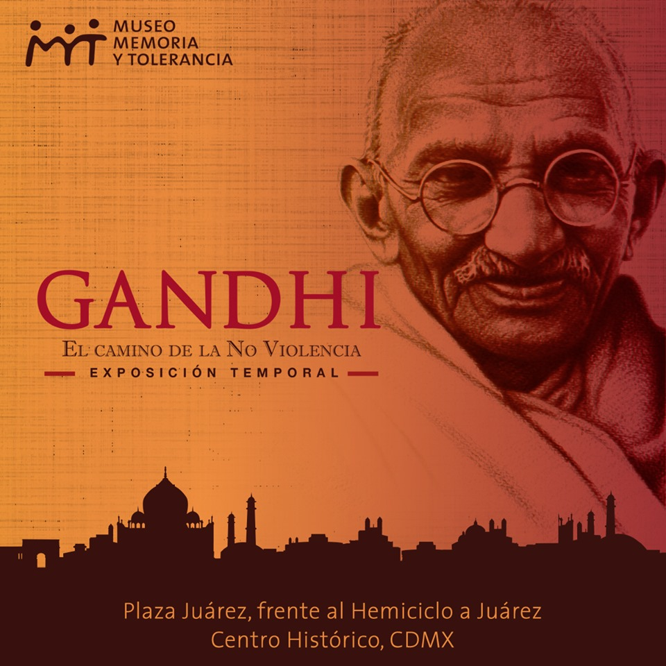 Resultado de imagen para exposición gandhi