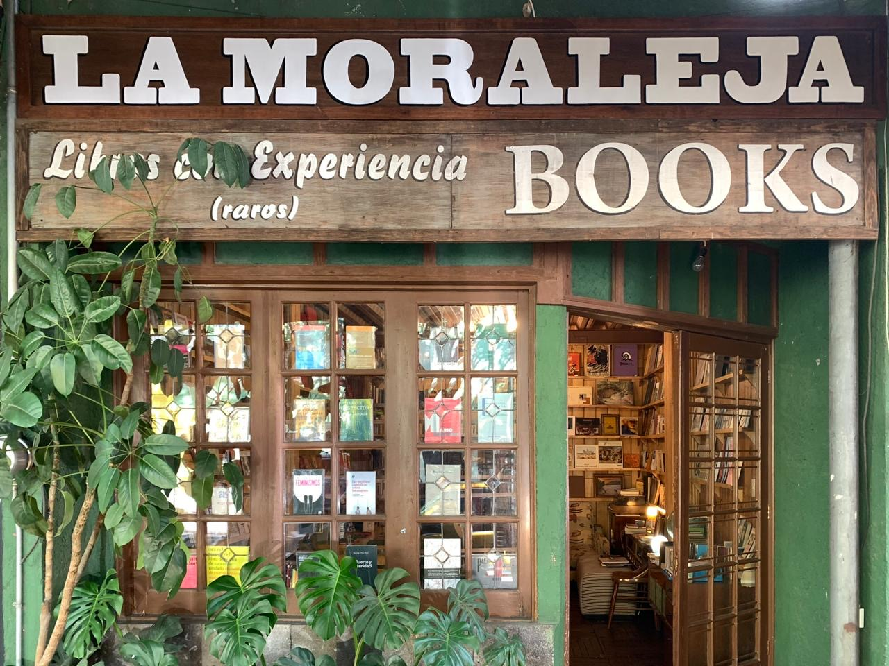La Moraleja es una exquisita librería de viejo en la Roma