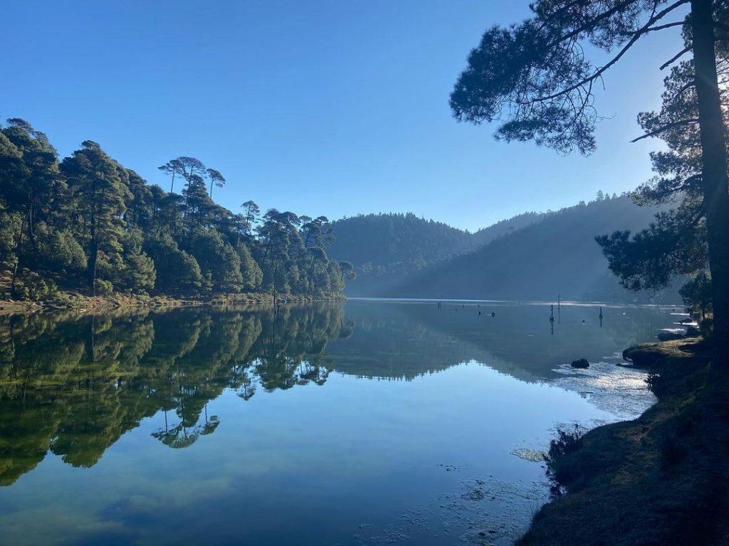 La Presa Iturbide es un hermoso paraje ecoturístico cercano a la CDMX